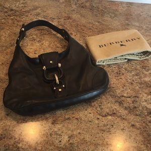 Burberry Buckle Hobo Bag
